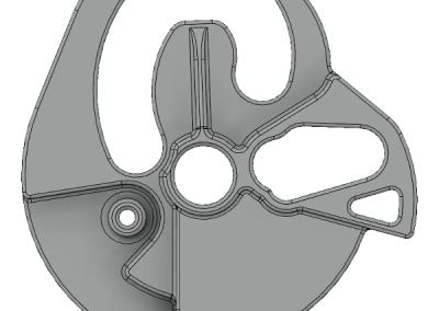 Gear Selector Back Model