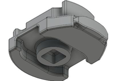 Hatch Knob Bottom Model