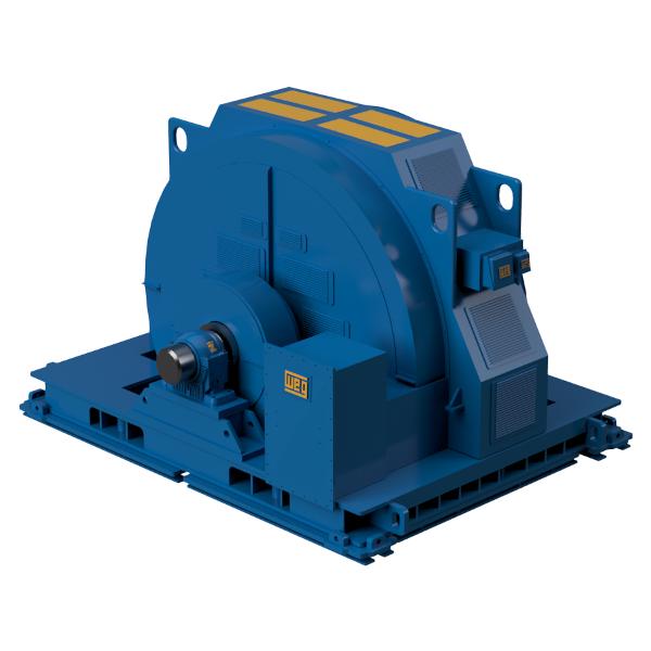 WEG Electric Motor Isometric View
