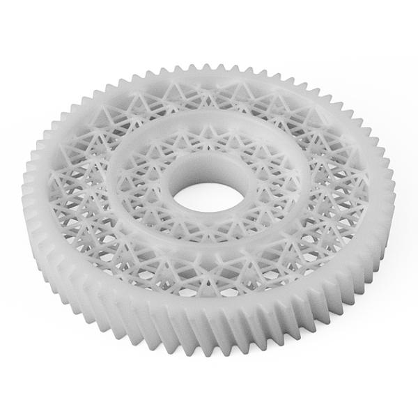 Spur Gear Lightweight Plastic
